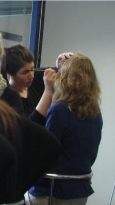 Quarrée Gesichter 2013 -  Modenschauen  27.04.2012 - Professionelles Make-Up