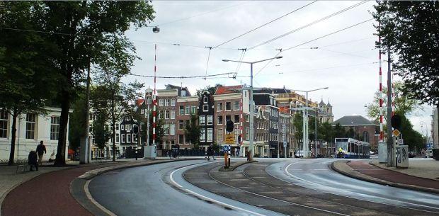 Amsterdam - Hortusbrug  am Botanischen Garten