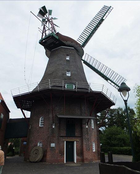 Ostfriesland - Peldemühle Jemgum von 1756