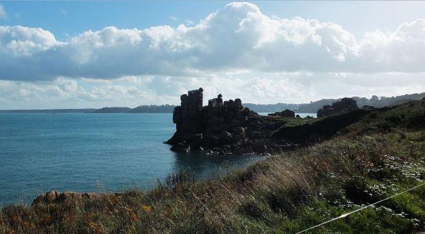 Bretagne - 01. Nov. 2014 - Granitküste bei Ploumanac'h