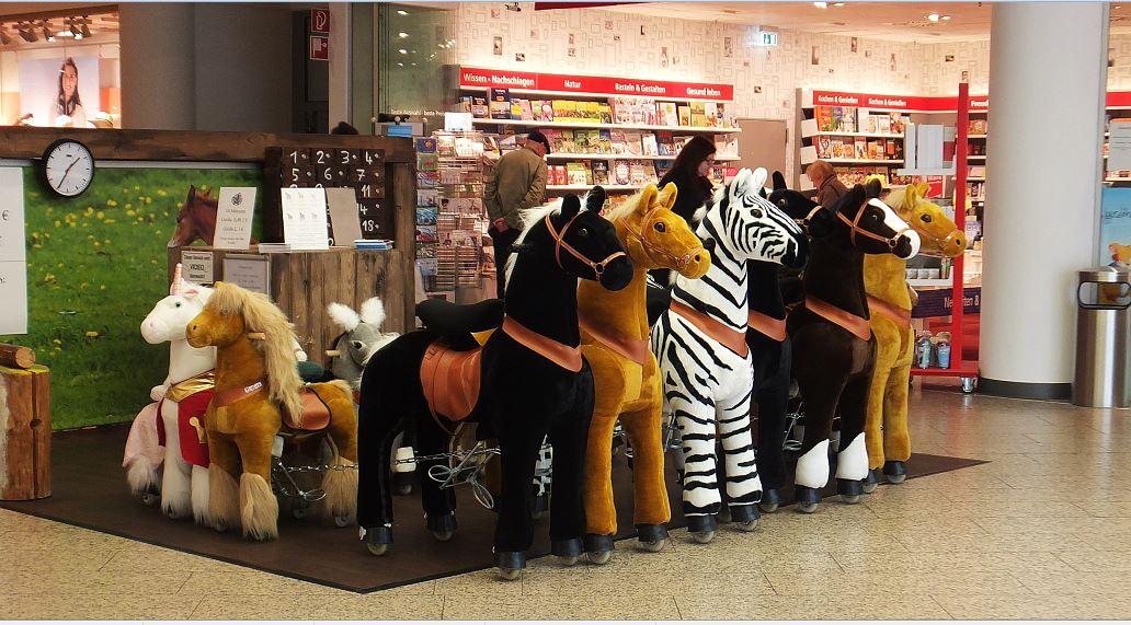 Plüschreittiere - Pferde, Zebras, Einhorn