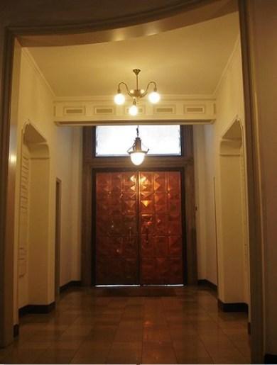 Hamburg - Eingangsbereich eines Kontorhauses ...