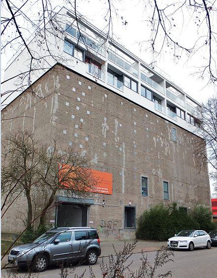 Hamburg - Hochbunker - Eilbek, Schellingstraße